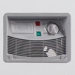 Nút vặn điều chỉnh nhiệt độ nằm trên thân tủ