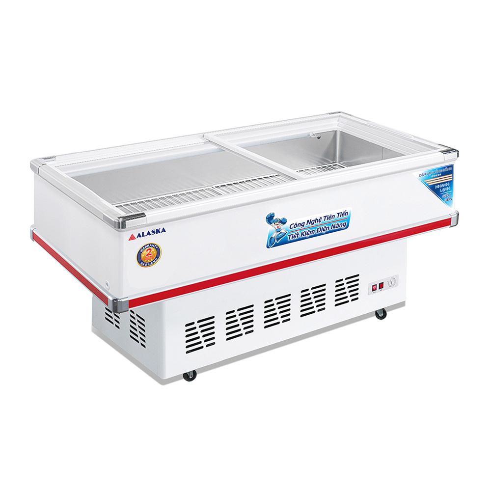 Tủ đông bày hàng 220 lít Alaska SD-4SC công suất 190W