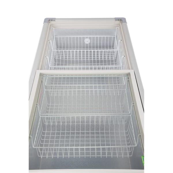 Có đến 6 giỏ chứa bên trong Trong tủ được thiết kế 6 giỏ chứa bên trong. Tiện lợi cho việc sắp xếp, phân chia các loại thực phẩm khác nhau.