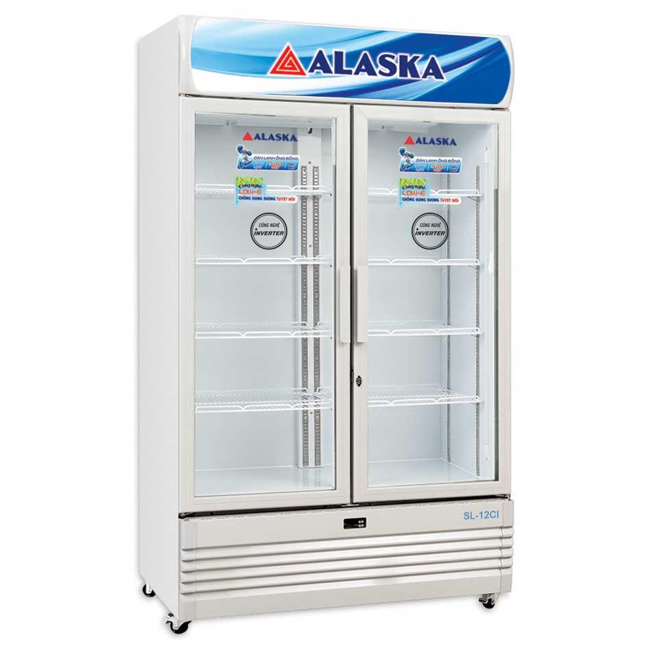 Tủ mát inverter 1200 lít Alaska SL-12CI công suất 470W
