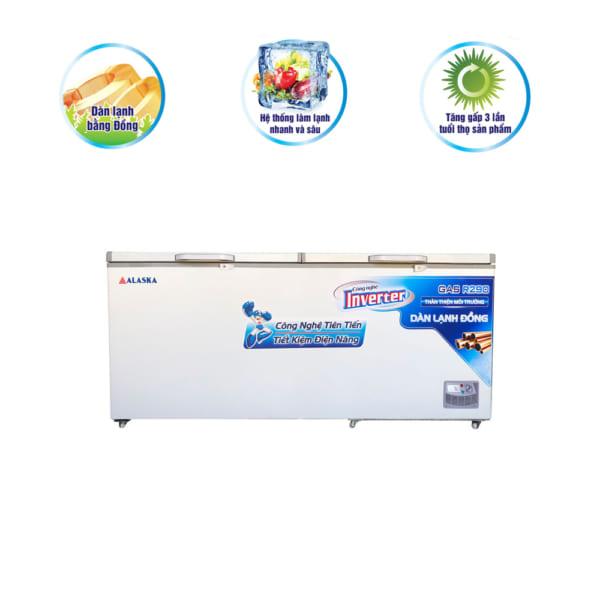 Tủ đông Alaska Inverter HB-1200CI dung tích 1200 lít