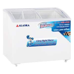 Tủ đông 120 lít bày hàng kem Inverter Alaska KC-210CI công suất 245W
